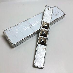 Michael Michael Kors Silver StuddedChunky Bracelet